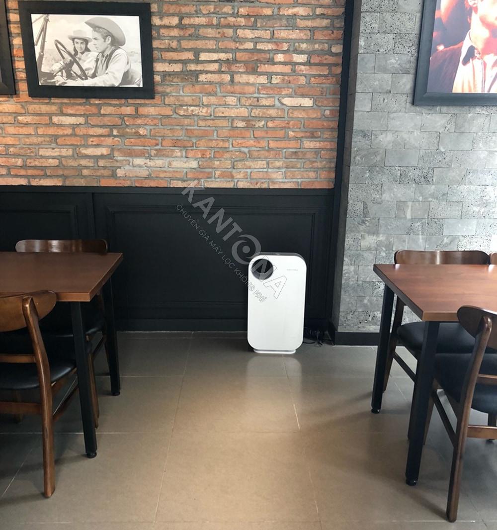 lap dat thuc te may loc khong khi coway ap 1008ch cho quan cafe - Máy lọc không khí Coway AP-1008CH (SWAN)