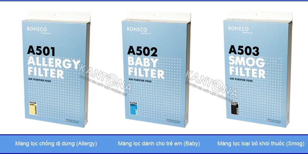 ba mang loc dac biet may loc khi boneco p500 - Đánh giá máy lọc không khí Boneco P400 có tốt không?