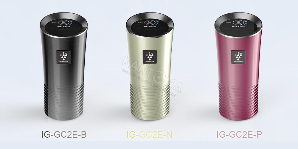 ba model may loc khong khi oto sharp IG GC2E - Máy lọc không khí ô tô Sharp IG-GC2E-B/N/P