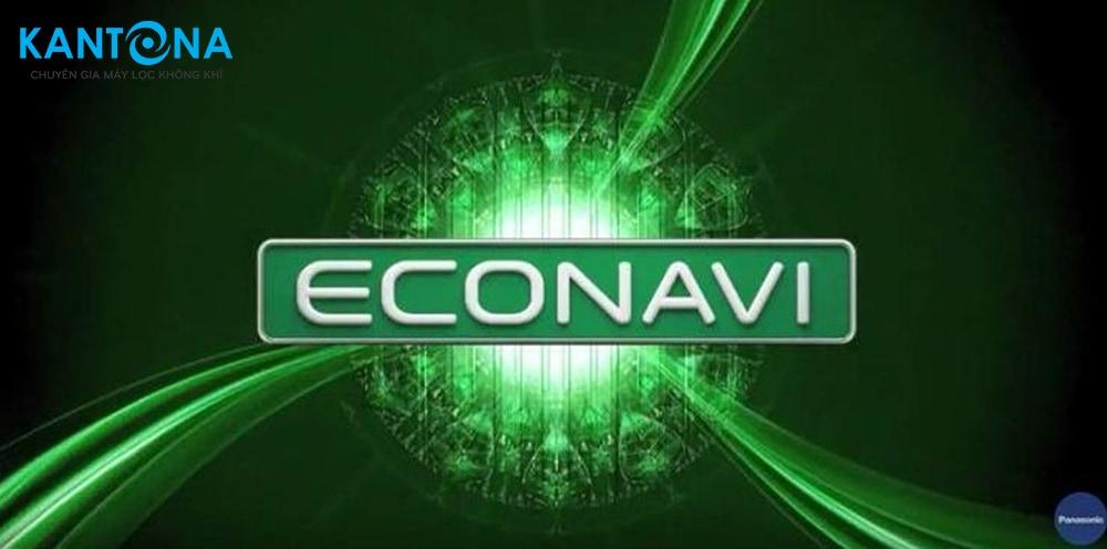 che do econavi may loc khong khi panasonic - Máy lọc không khí Panasonic F-PXJ30A