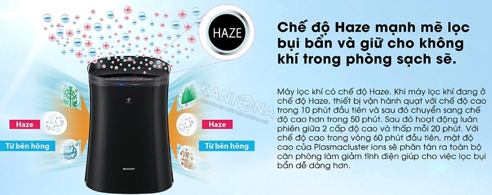 che do haze may loc khi va bat muoi sharp fp gm50e b - Máy lọc không khí và bắt muỗi Sharp FP-GM50E-B