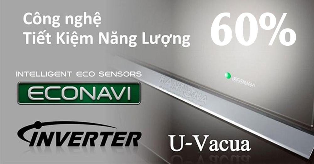 cong nghe econavi may loc khong khi panasonic - Máy lọc không khí và tạo ẩm Panasonic F-VXK70A