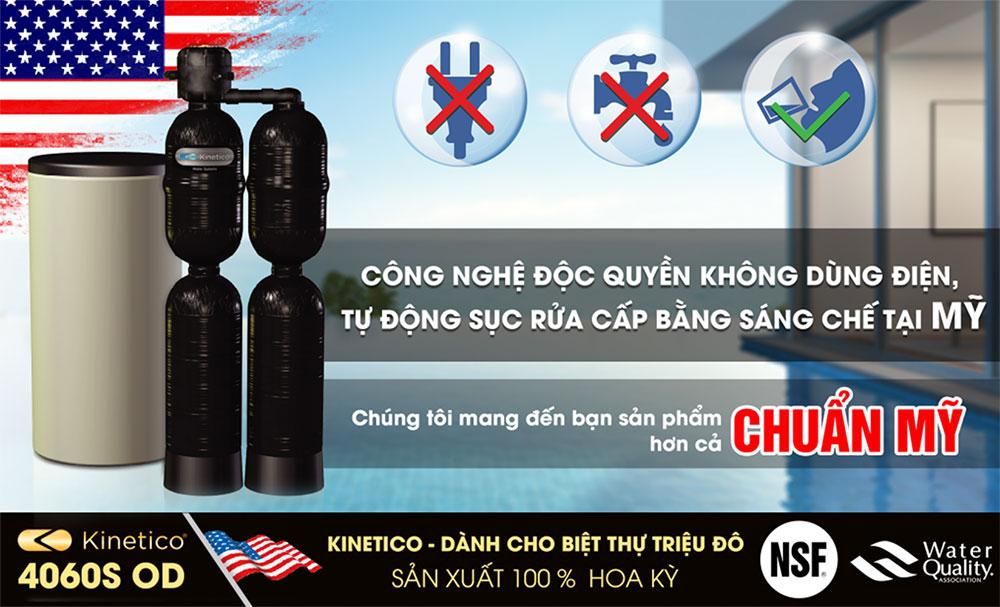 Tinh nang uu viet cua he thong loc tong sinh hoat kinetico 4060S OD - Hệ thống lọc tổng và làm mềm nước Kinetico 4060S OD(Made in USA)