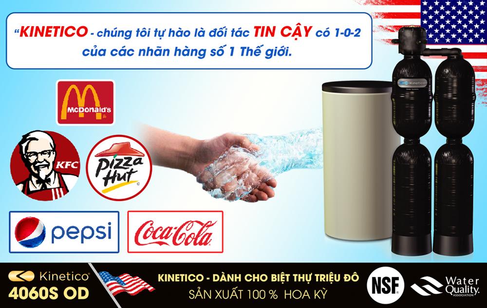 loc tong sinh hoat kinetico 4060s od va cac doi tac - Hệ thống lọc tổng và làm mềm nước Kinetico 4060S OD(Made in USA)