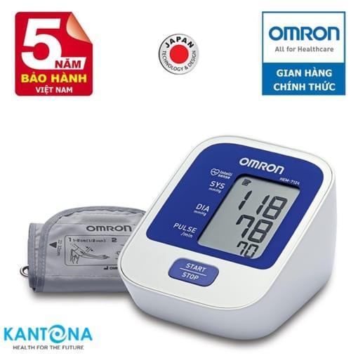 Máy đo huyết áp tự động Omron Hem-7124