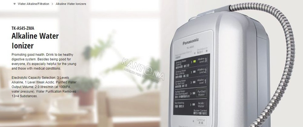 may loc nuoc panasonic tk as45 - Máy lọc nước ion kiềm Panasonic TK-AS45