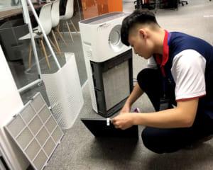 cách sử dụng máy lọc không khí