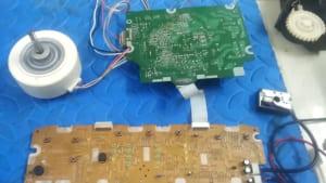 Bo mạch máy lọc không khí bị hỏng