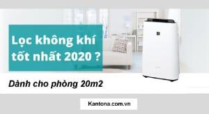 Máy lọc không khí giá rẻ dành cho phòng 20m2