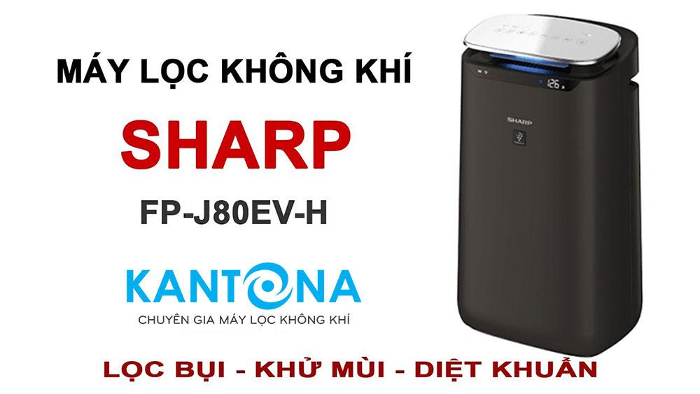 may loc khong khi sharp fp j80ev h - Tổng kho phân phối máy lọc không khí Sharp tại Hà Nội.