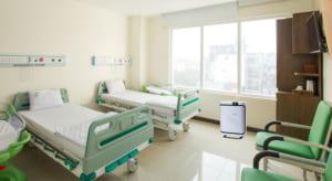 Lắp đặt máy lọc khí Boneco P500 cho bệnh viện