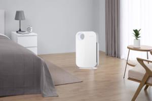 Coway AP-1008CH mang lại nguồn không khí sạch cho phòng ngủ.