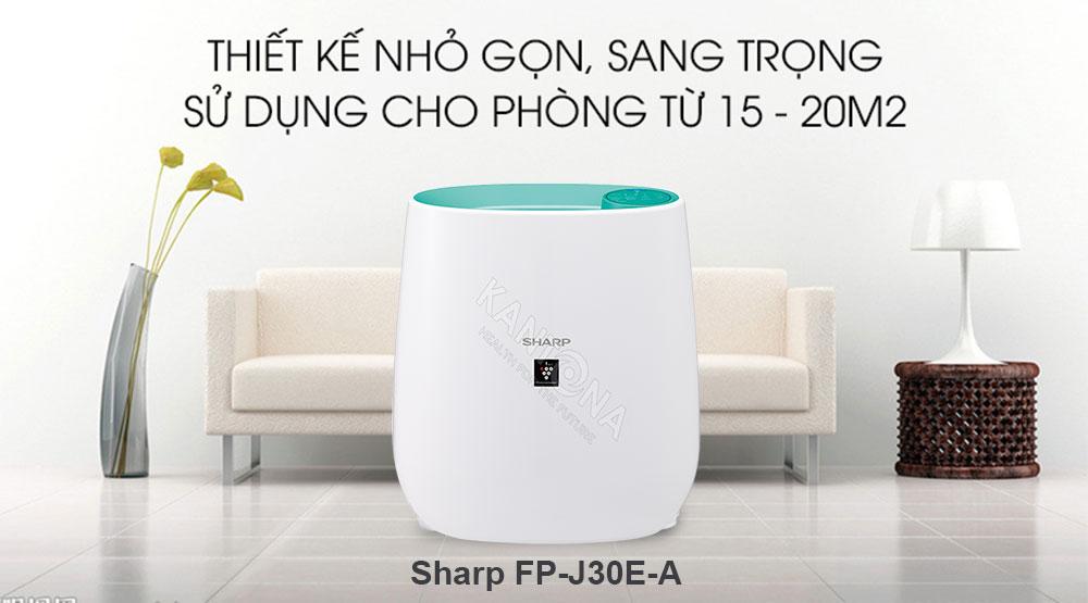 may loc khong khi sharp fp j30e a - Tổng kho phân phối máy lọc không khí Sharp tại Hà Nội.