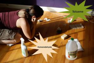 thành phần chính của mùi sơn gỗ