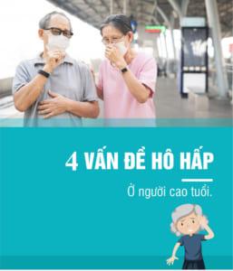 Vấn đề hô hấp ở người già khi ô nhiễm không khí