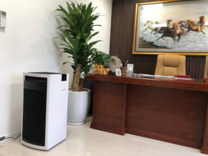 Lắp đặt máy lọc không khí Boneco P700 cho phòng sếp