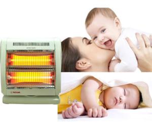 Quạt sưởi dành cho trẻ sơ sinh
