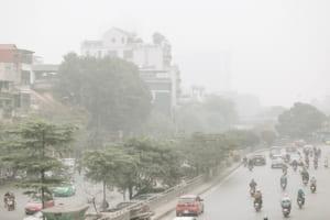 Không khí Hà Nội ô nhiễm trở lại